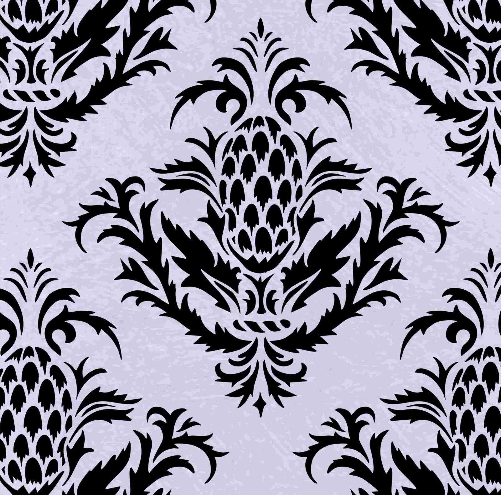simple damask pattern - HD1600×1579