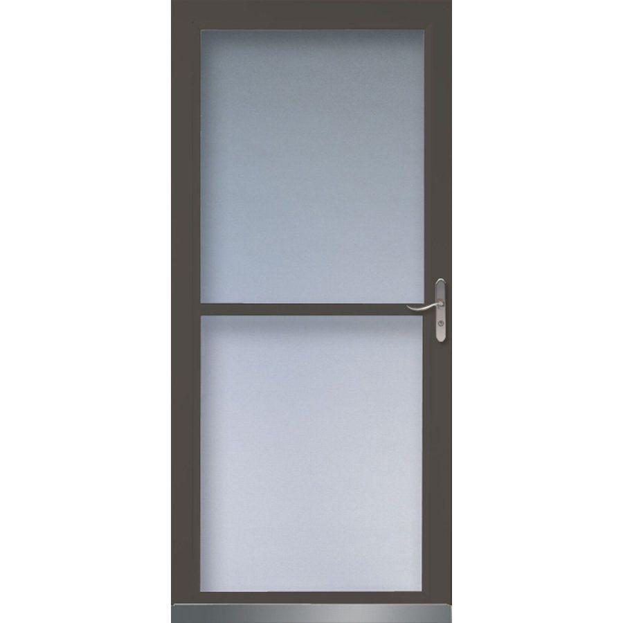 Larson 346520 Tradewinds Full View Tempered Glass Storm Door