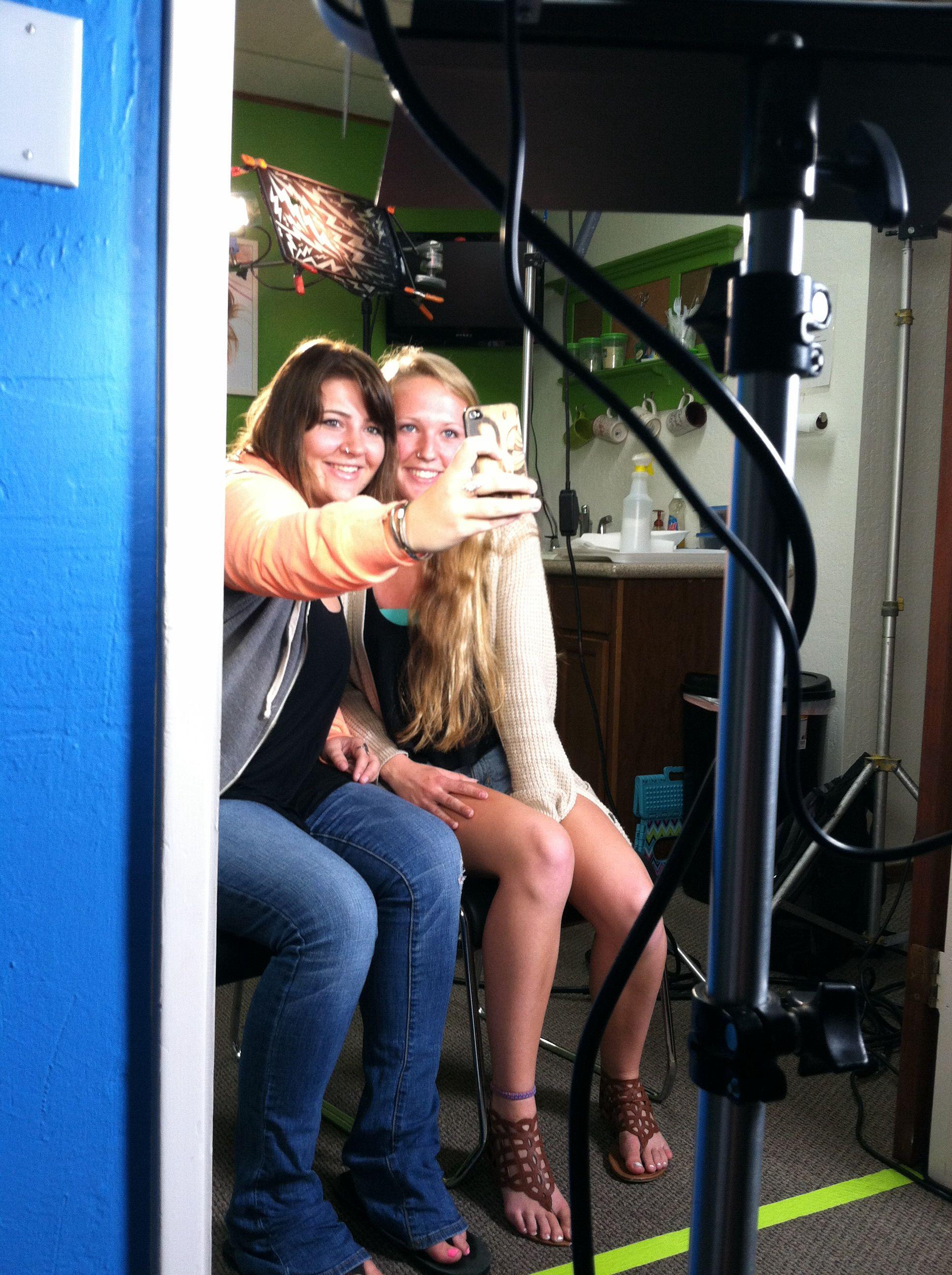 Group selfies & head lice
