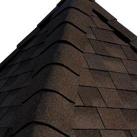 Gaf Timbertex 20 Lin Ft Timbertex Woodberry Brown Laminated Hip And Ri Ridge Roof Roof Shingles Shingling