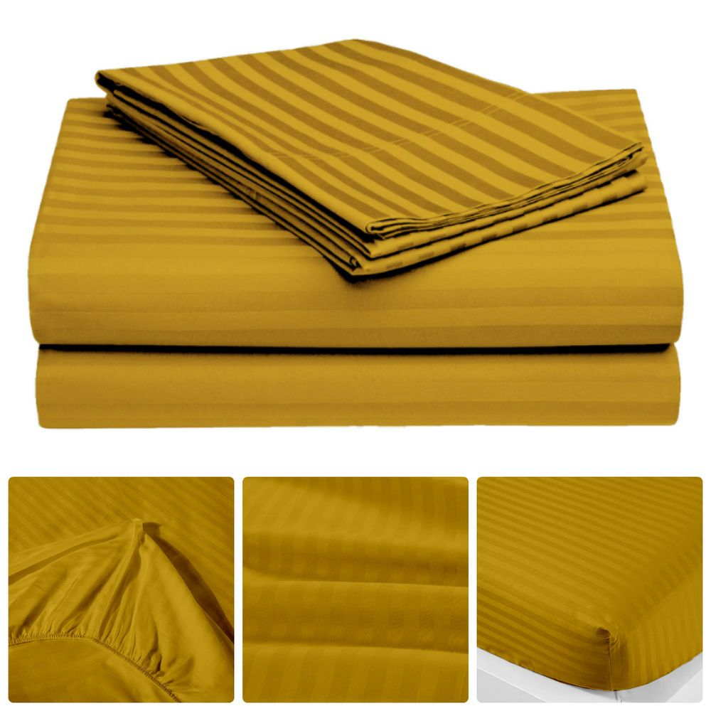 California King Bed Linens Part - 46: 200 TC 100% Egyption Cotton Soft U0026 Stylish 4 Pcs Bed Linen California King  Size