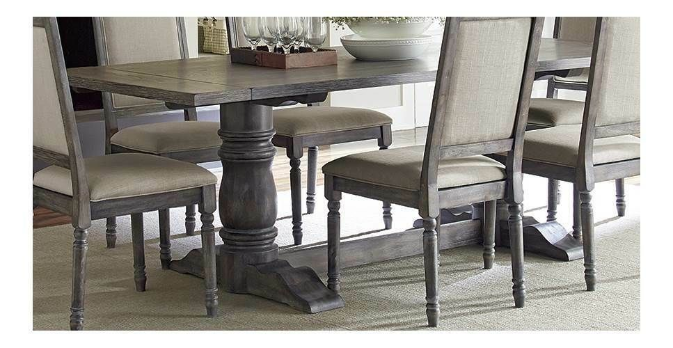 complete dining table in dove gray id 3645860 affilink dining rh pinterest com