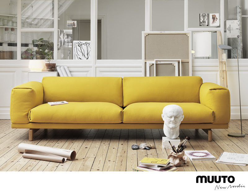 Muuto sofa - like the clear windows in the background too. | Design ...