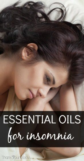 Learn how to use essential oils to help with insomnia.