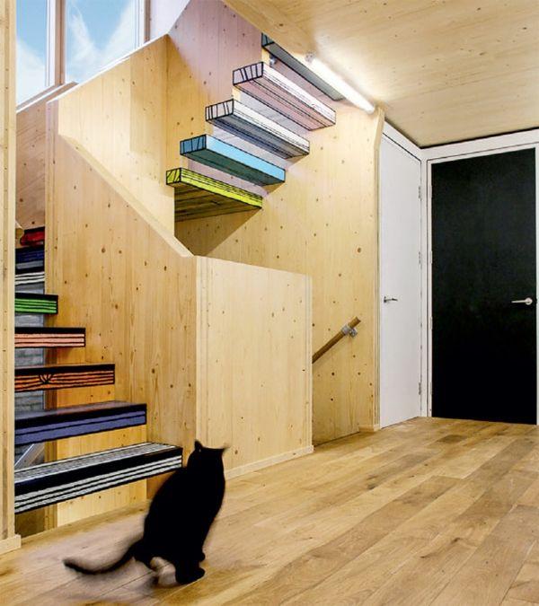 treppenhaus gestaltung zeichentrickfilm moderne architektur pinterest treppenhaus. Black Bedroom Furniture Sets. Home Design Ideas