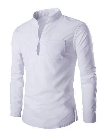 3e2b3cec2b Resultado de imagen para camisas manga larga hombre sin cuello