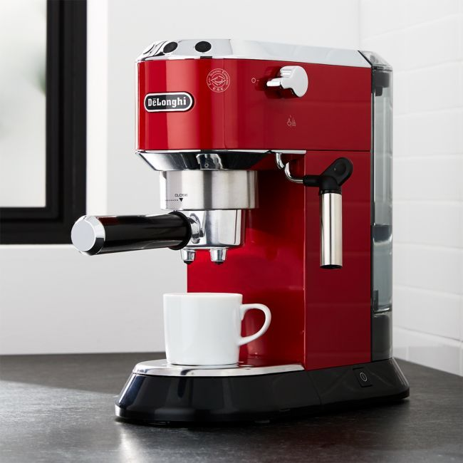 De'Longhi ® Dedica Slimline Red Espresso Maker #espressomaker