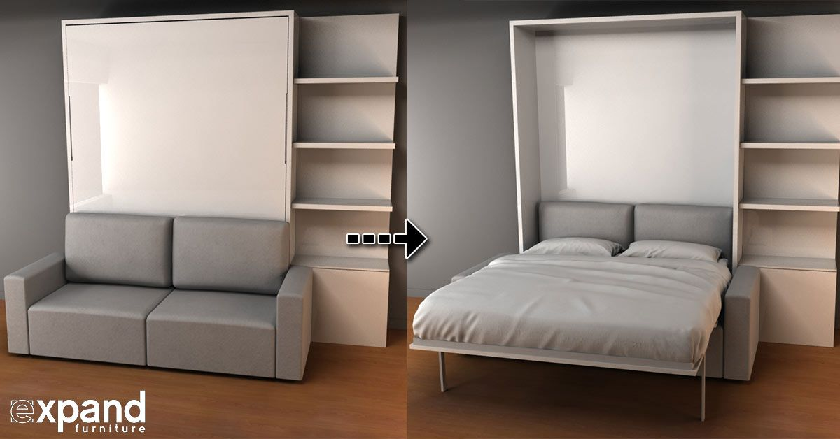 Murphysofa Clean Expand Furniture, How To Make A Murphy Bed With Sofa