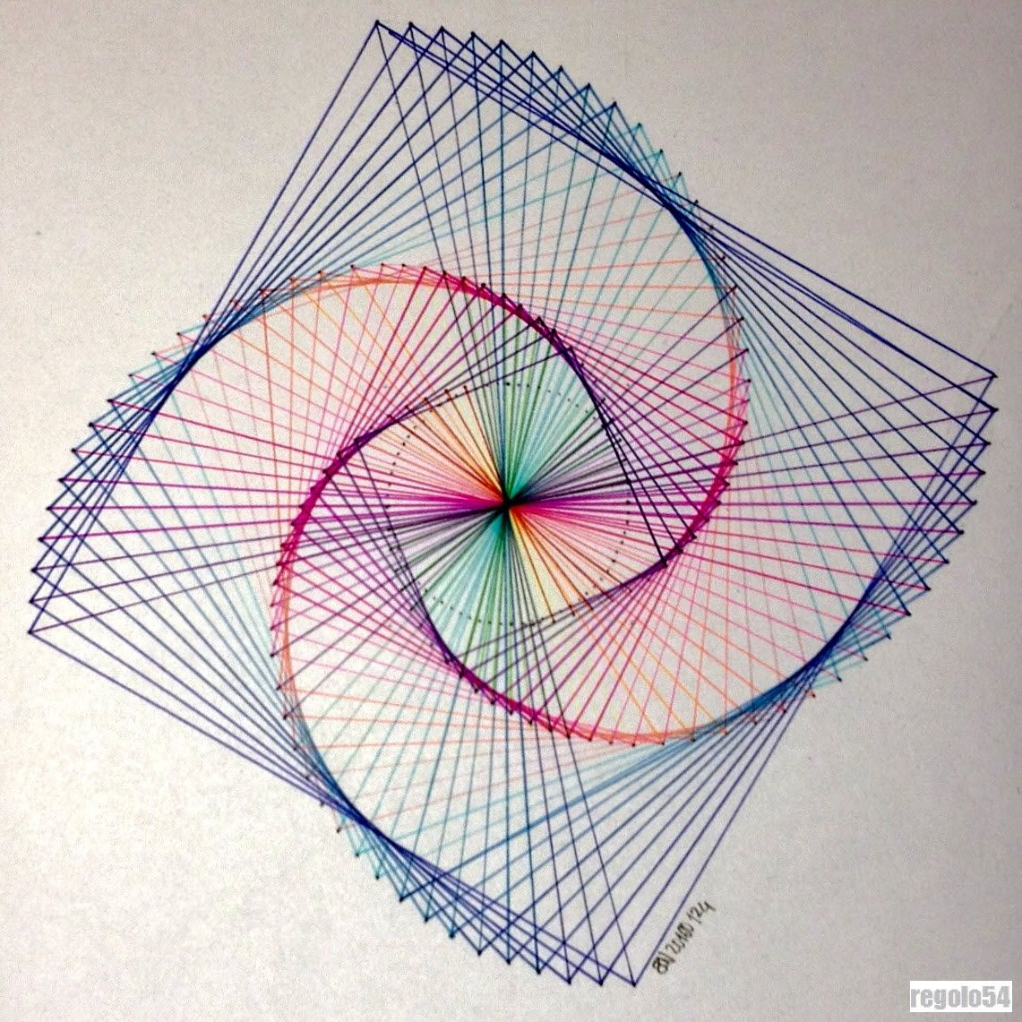 String Art: New Post On Regolo54