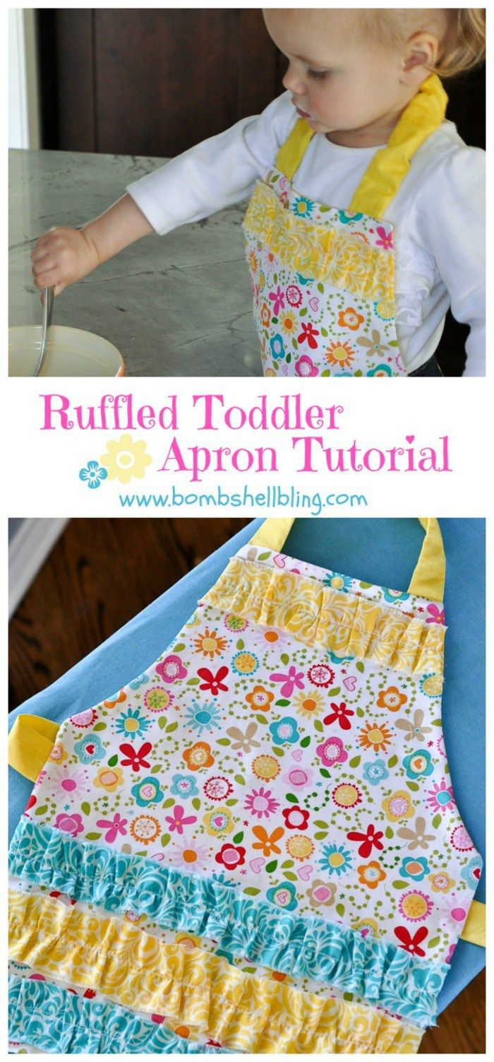 Childs Apron Pattern Simple Decorating Design