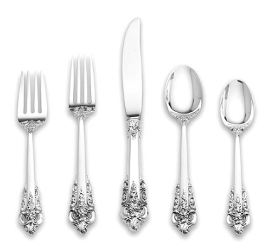 The 12 Patterns Of The Southern Silver Zodiac Flatware Set