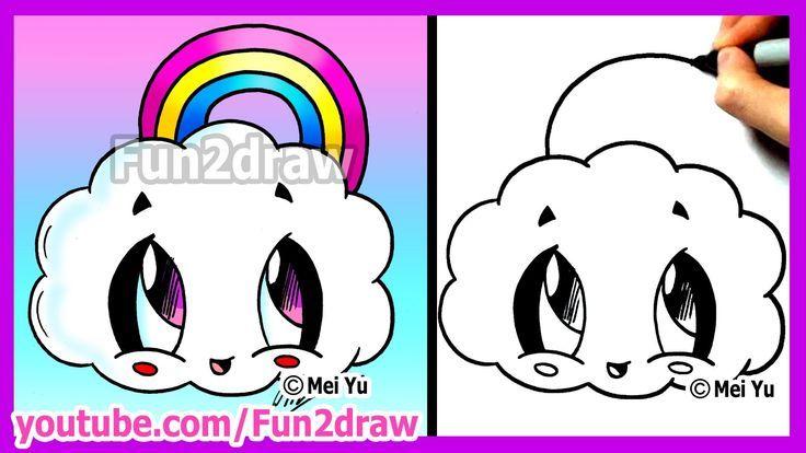 Pin By Alana On Dibus Girls Y Otros Cartoon Drawings Fun2draw Cute Drawings