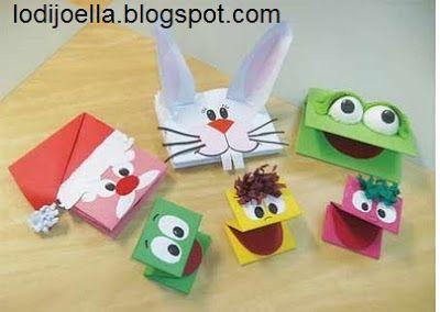 Titeres de papel para niños :lodijoella