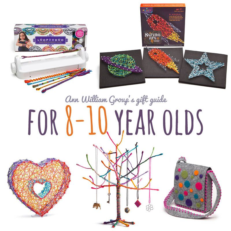 Crafty gift ideas for the 8 to 10 year old on your list | Weaving ...