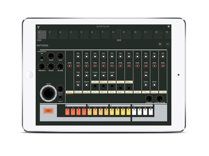 12 of the best ios groovebox and drum machine apps musicradar music pinterest drum. Black Bedroom Furniture Sets. Home Design Ideas