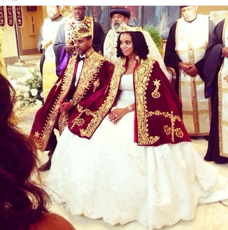 Royalty ethiopian wedding habesha for Ethiopian traditional wedding dress designer