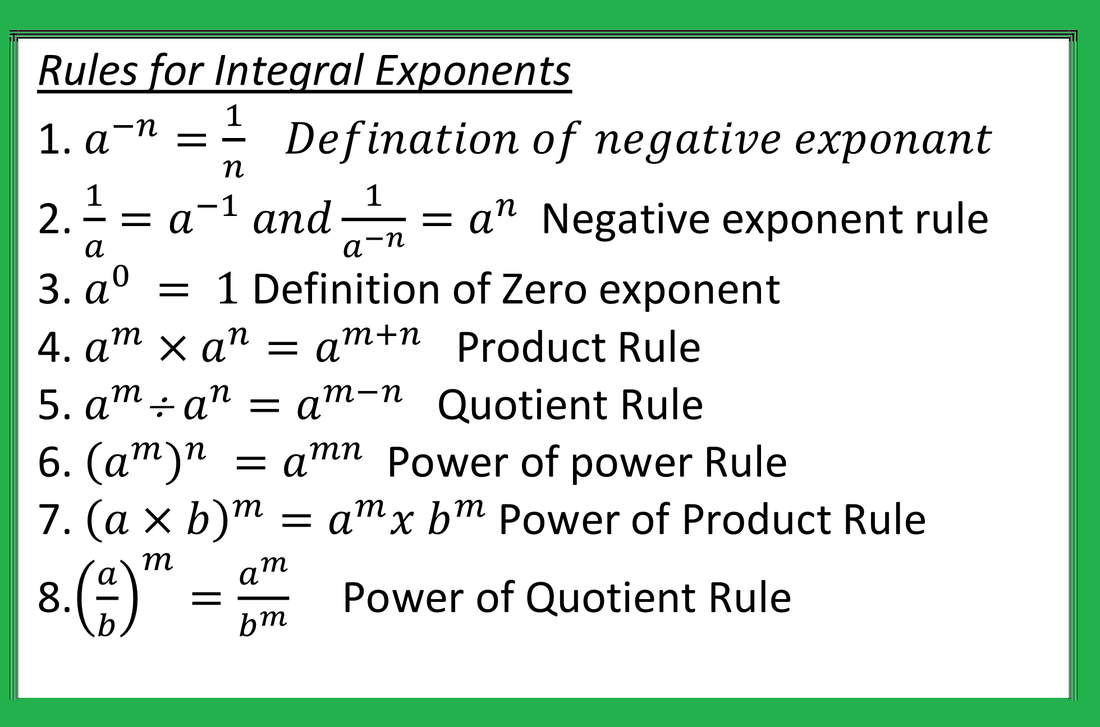 small resolution of Exponent Power Rule Worksheet - Worksheetfun   Math worksheets