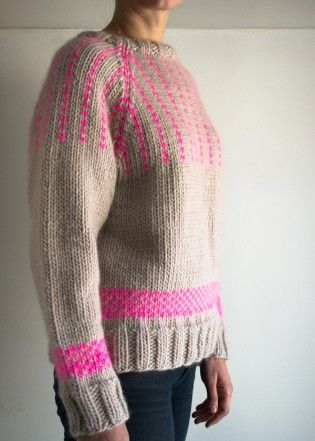 The Purl Soho Friendly Fair Isle Sweater | The Purl Bee | SEWING ...