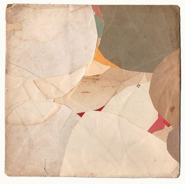 Muju-eup. Collage on card