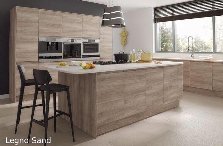 Contemporary Kitchen Wood Grain Google Search Modern Kitchen