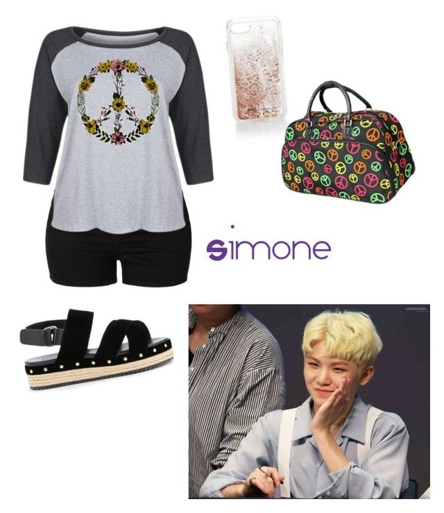 """Going Home With Woozi"" by kpop-lover97 ❤ liked on Polyvore featuring LE3NO, LC Trendz, Muveil, Rebecca Minkoff and plus size clothing"