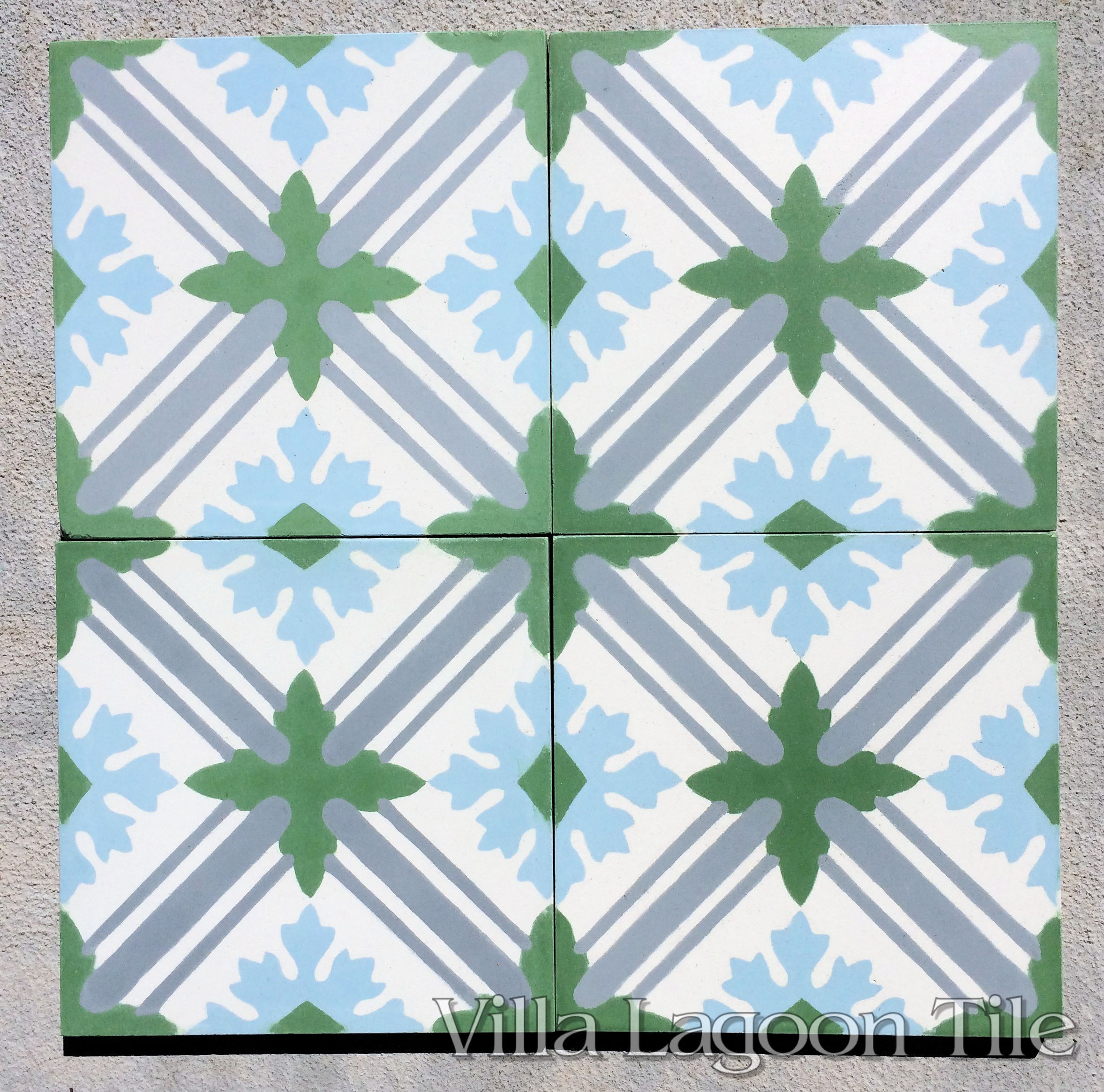 Camille cement tile.   Tiles   Pinterest   Cement, Green accents and ...