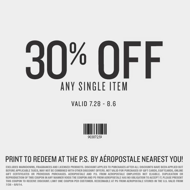 Free Printable Coupons Aeropostale Coupons Printable Coupons Free Printable Coupons Kohls Printable Coupons
