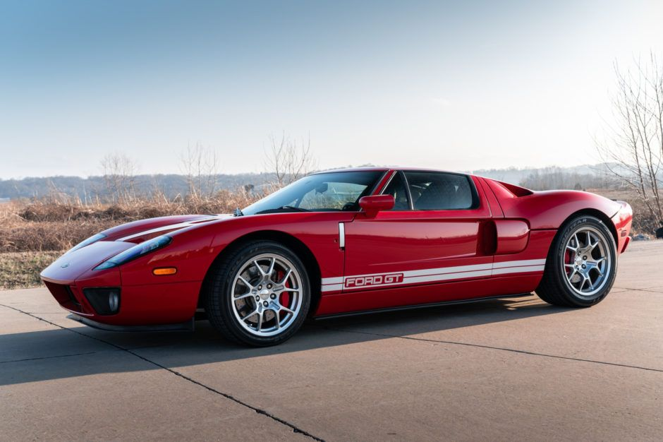 9k Mile 2006 Ford Gt In 2020 Ford Gt Ford Fairlane Ford