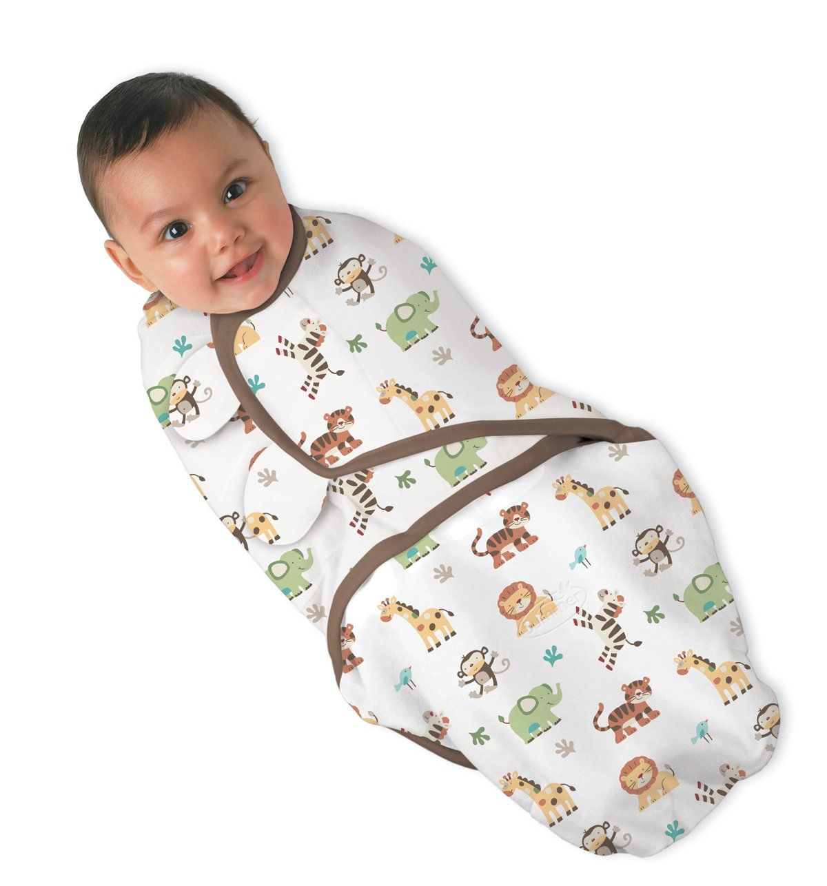 Einschlagdecke Baby Amazon Summer Infant Swaddleme 100 Cotton Jungle Print Small
