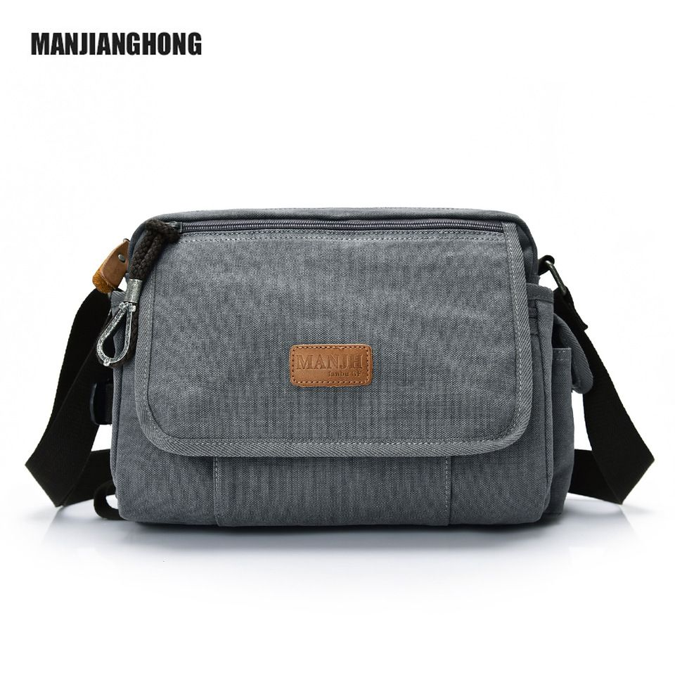 Top Selling Man Business Shoulder Bags Professional Men Canvas Briefcases a345b6dcd29f2
