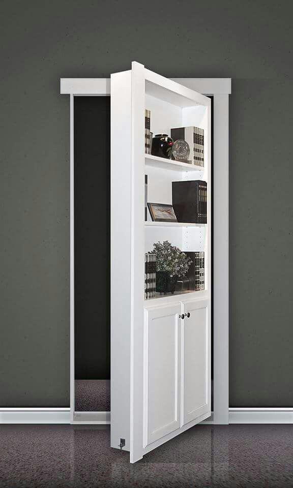 Murphy Door In 2020 Prehung Interior Doors Bookcase