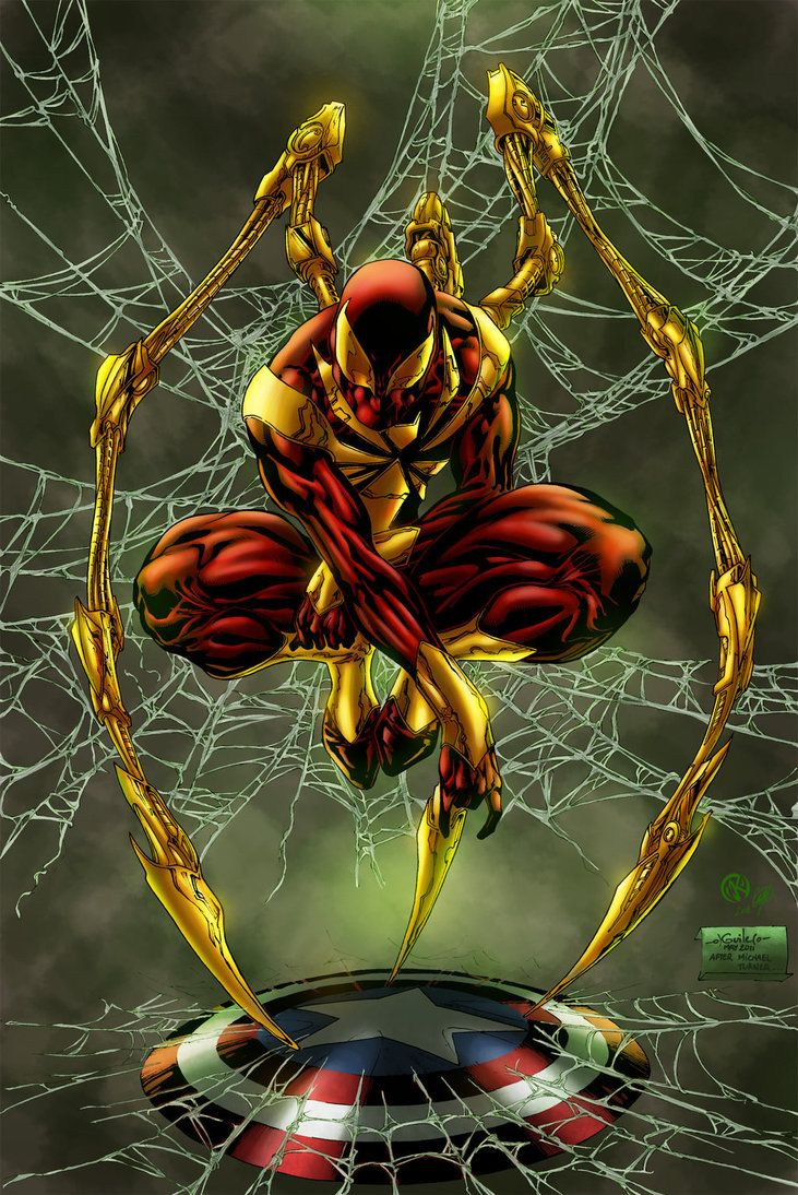 Iron Spider Colors By Zethkeeper On Deviantart Imagens Marvel