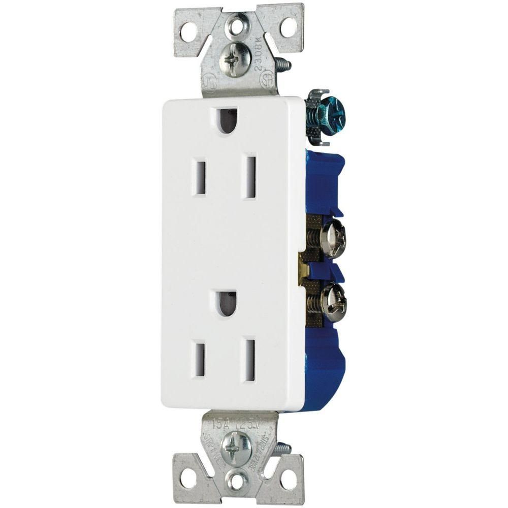 Cooper wiring devices garbage disposal switch wiring center cooper wiring devices 15 amp decorator duplex electrical outlet rh pinterest com wiring switches and receptacles leviton switch wiring for garbage disposal cheapraybanclubmaster Choice Image