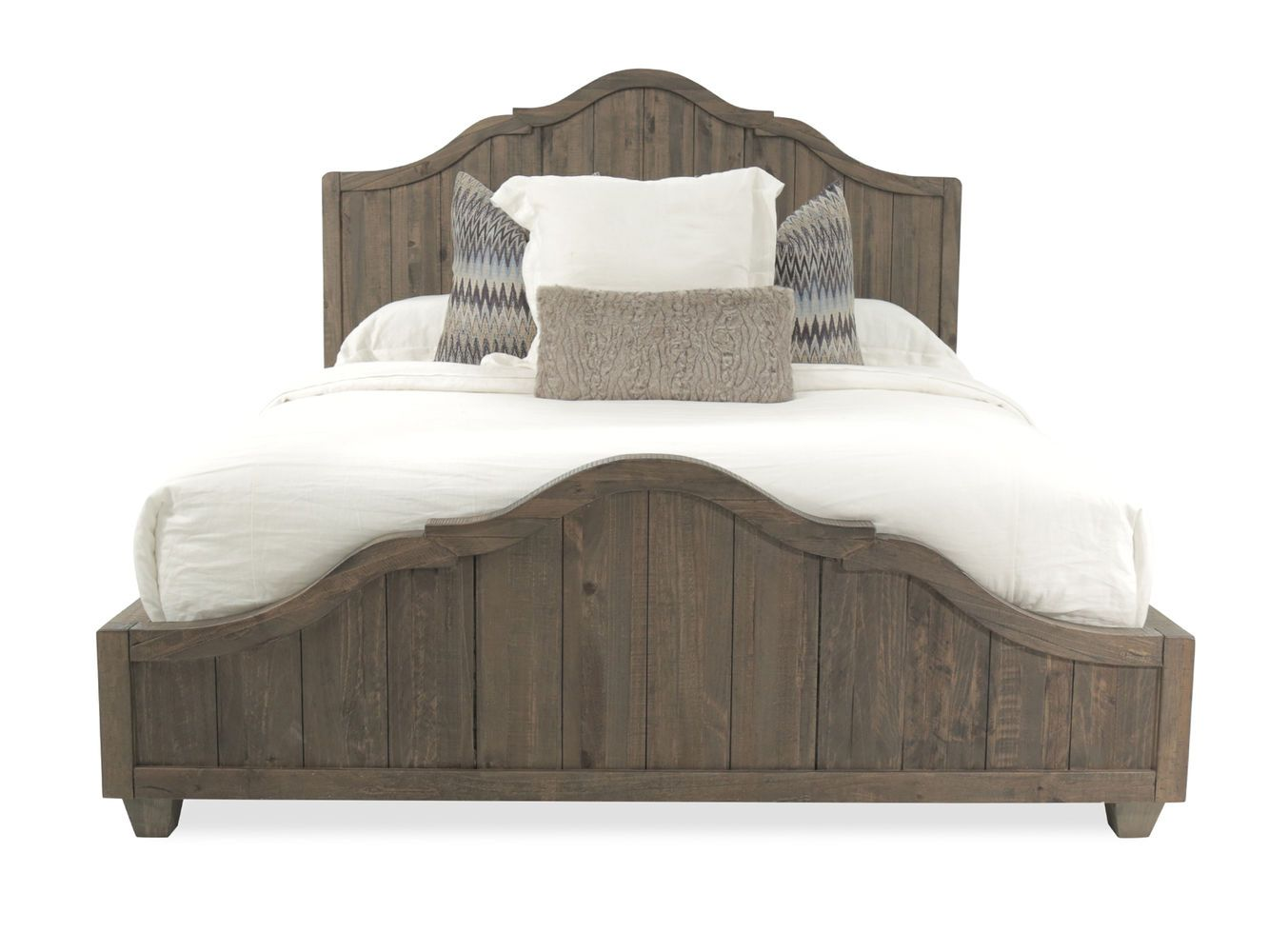 Magnussen Home Natural Umber Panel Bed Mathis Brothers Furniture