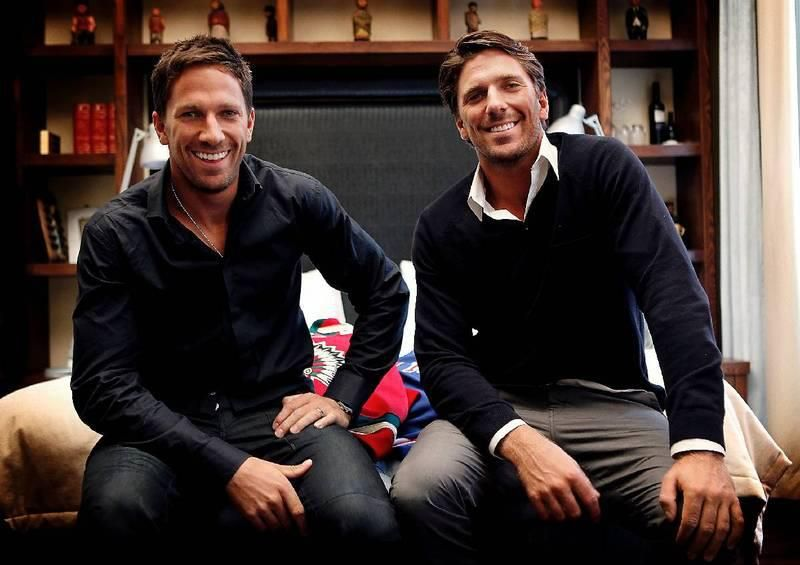 Joel And Henrik Lundqvist Identical Twins Wow Rangers Jets