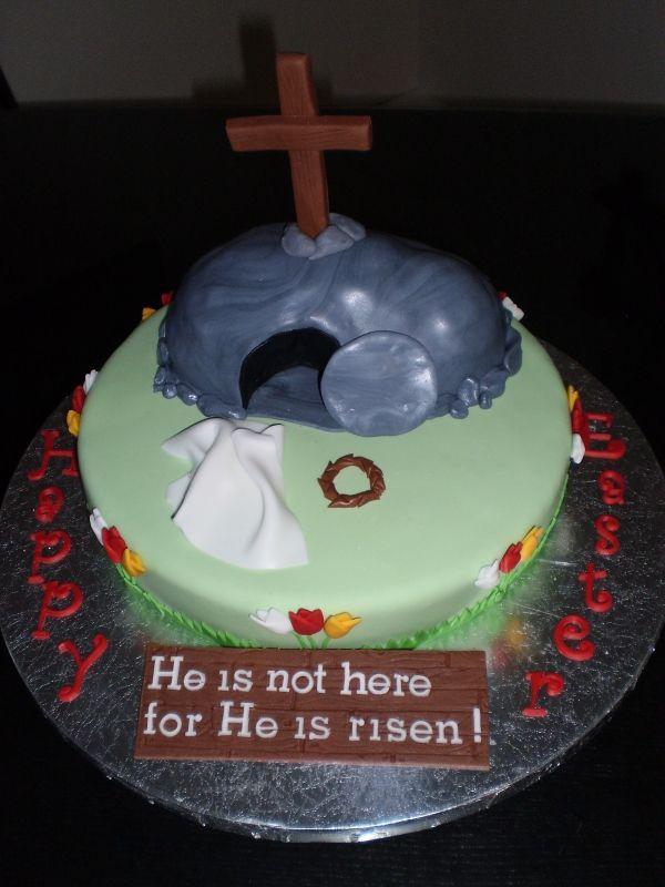 Easter Cakes Religious