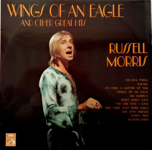 Russell Morris Wings Of An Eagle And Other Great Hits Lp 1973 Hmv Oz Ocsd 7702 Music Artists Popular Music Greatest Hits
