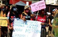 Aparat Tangkap Ratusan Aktivis Papua