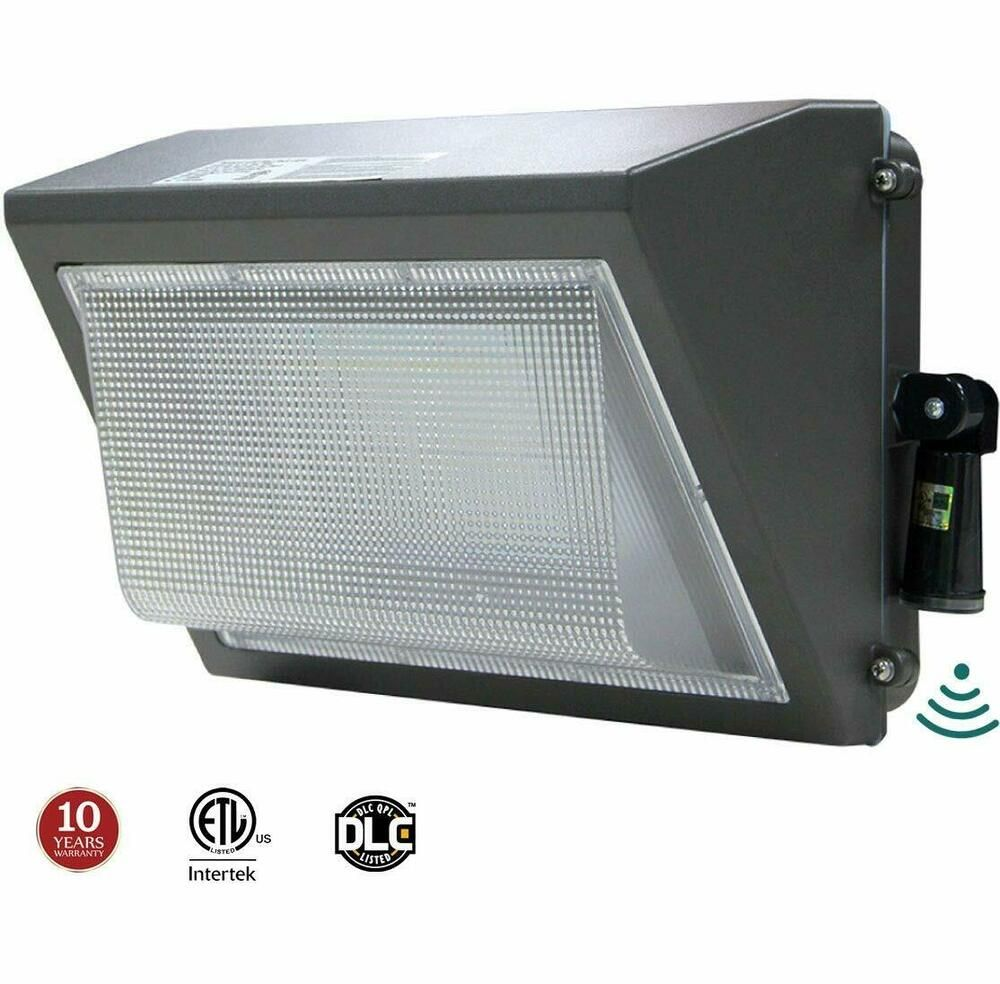 Sponsored Ebay Led Wall Pack 100w Adjustable Dusk To Dawn Photocell 300 400w Hps Mh Replacem Dusk To Dawn Wall Packs Led Parking Lot Lights