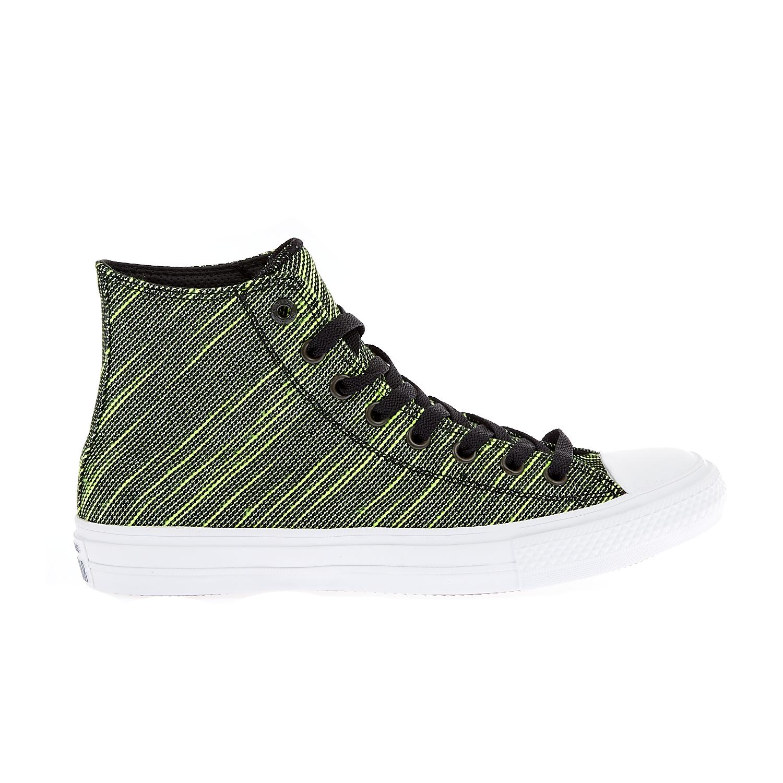 e8bedc7f40 CONVERSE – Unisex παπούτσια Chuck Taylor All Star II Hi μαύρα-πράσινα  Γυναικεία Παπούτσια