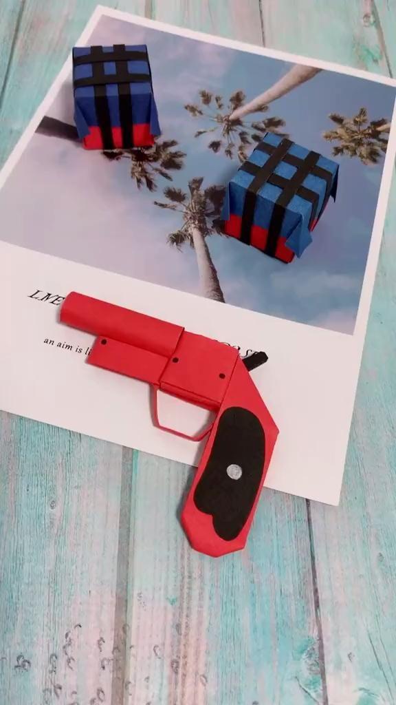 Photo of Diy Origami Gun – Signal