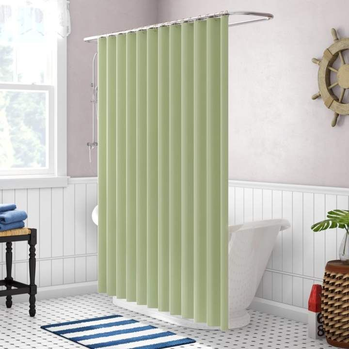 Figaro Single Shower Curtain In 2019 Curtains Striped Shower