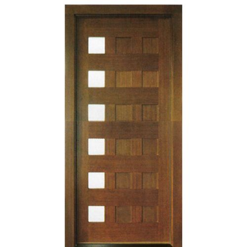 Milan 12 Panel 6lt E 01 Contemporary Entry Doors Wood Entry Doors Wood Front Entry Doors