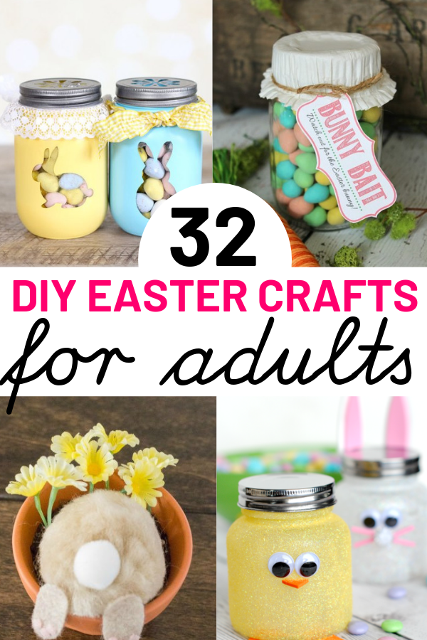 32 Easter Crafts For Adults Seniors To Bring Easter Cheer To