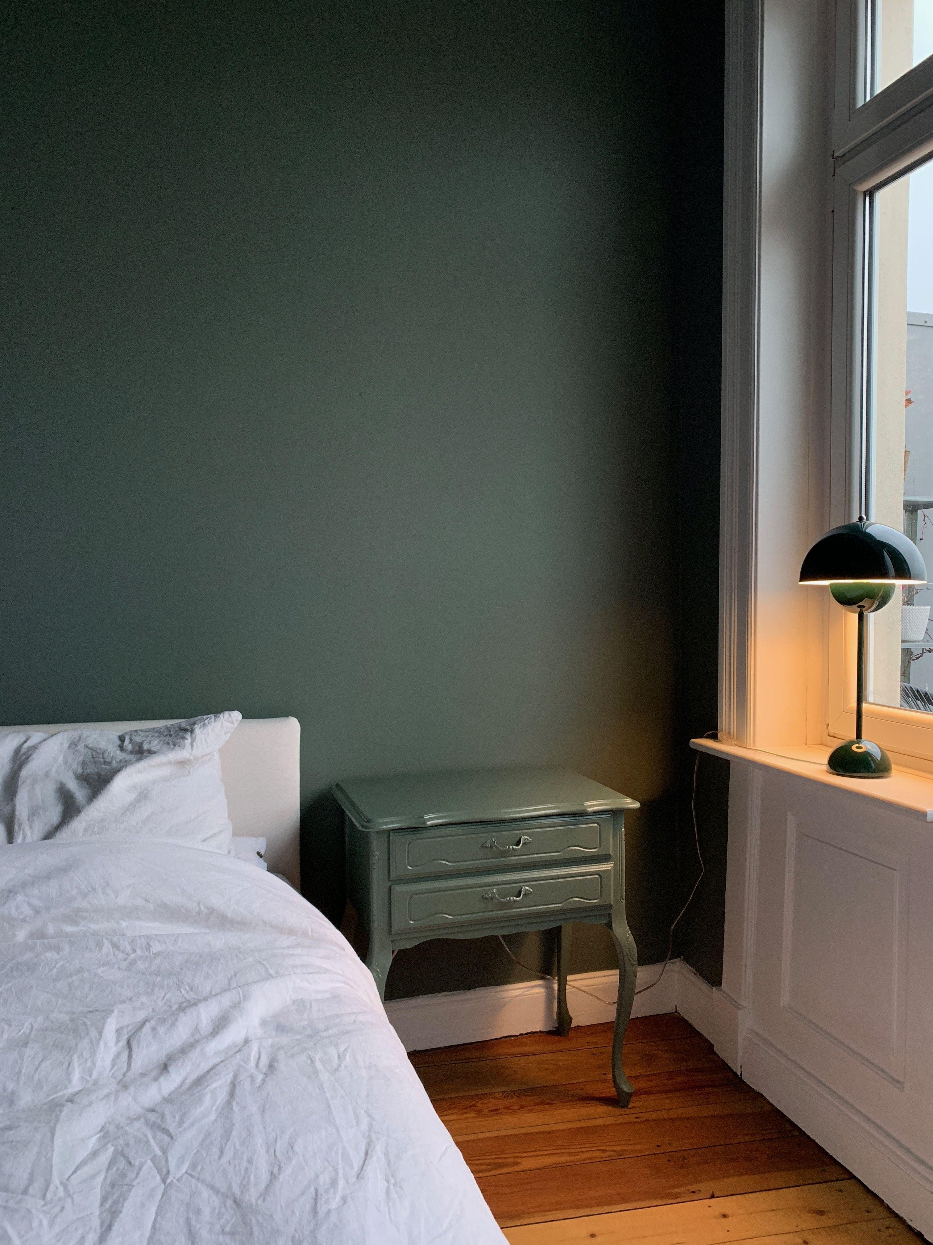 Schlafzimmer Makeover Neue Farbe Fur Das Schlafzimmer