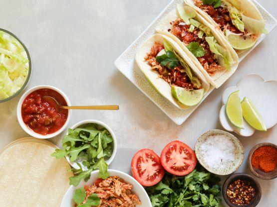 Shredded Chicken Tacos Recipe  - Food.com #chickentacorecipes