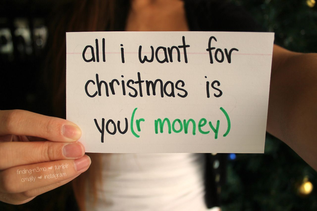 All I Want For Christmas Is Tumblr Quality Tumblr Quotes Funny Quotes