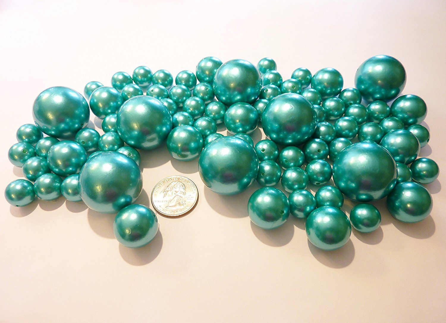 fillers turquoise products can pearl turquoisepearlvasefillers we package teal beads vase
