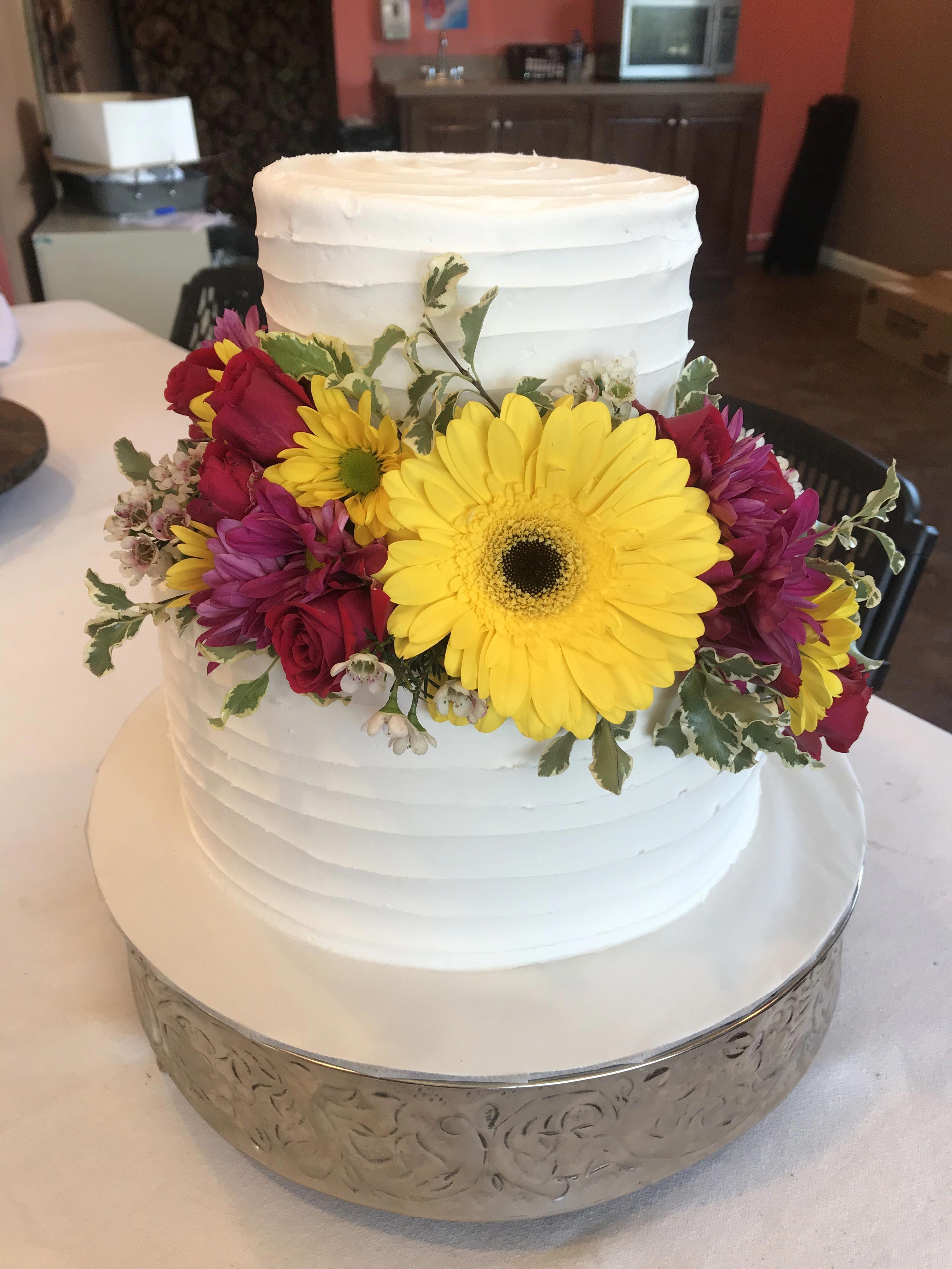 Never under no scenarios place your wedding event cake