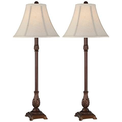 Giselle Traditional Buffet Table Lamp Set Of 2 9j440 Lamps Plus In 2021 Buffet Table Lamps Table Lamp Sets Buffet Lamps